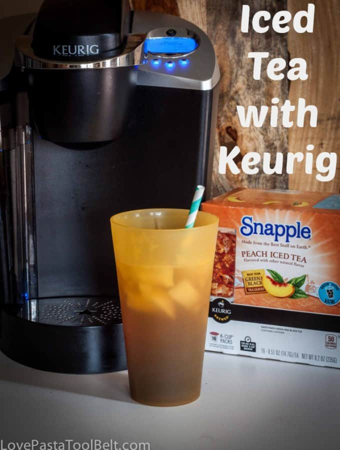 Iced Tea with Keuirg- Love, Pasta and a Tool Belt #BrewOverIce #BrewItUp #shop