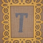 Initial Burlap Canvases- Love, Pasta and a Tool Belt