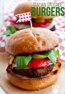 Italian-Sausage-Burgers