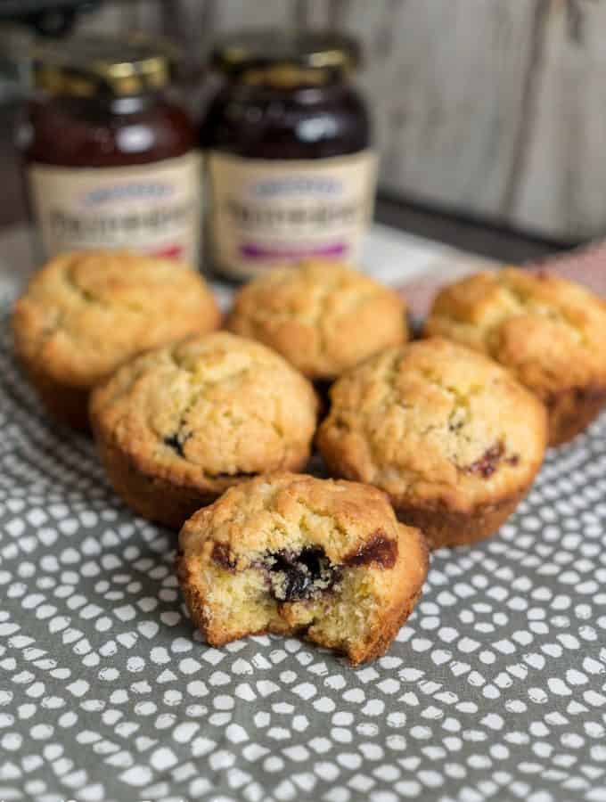 Jam Filled Muffins