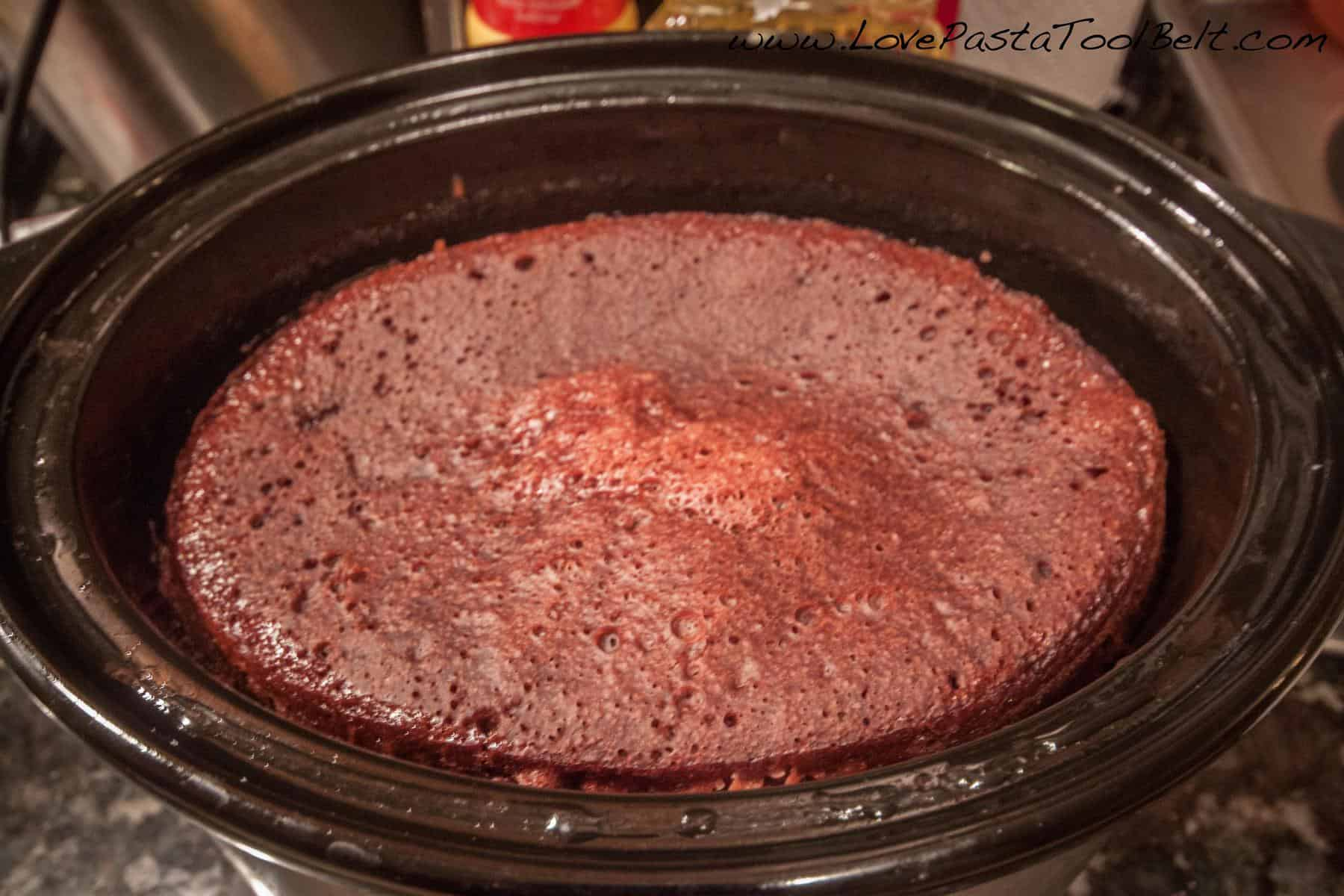 Permalink to Crockpot Chocolate Lava Cake