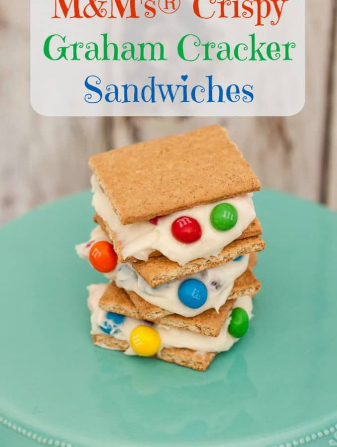 M&M's® Crispy Graham Cracker Sandwiches