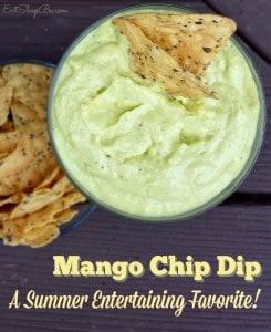 Mango Chip Dip