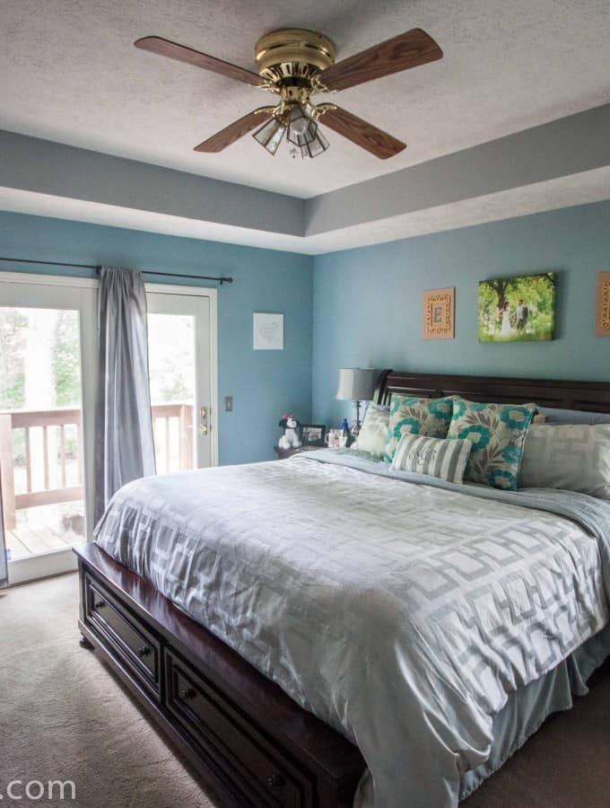 Master Bedroom Reveal- Love, Pasta and a Tool Belt