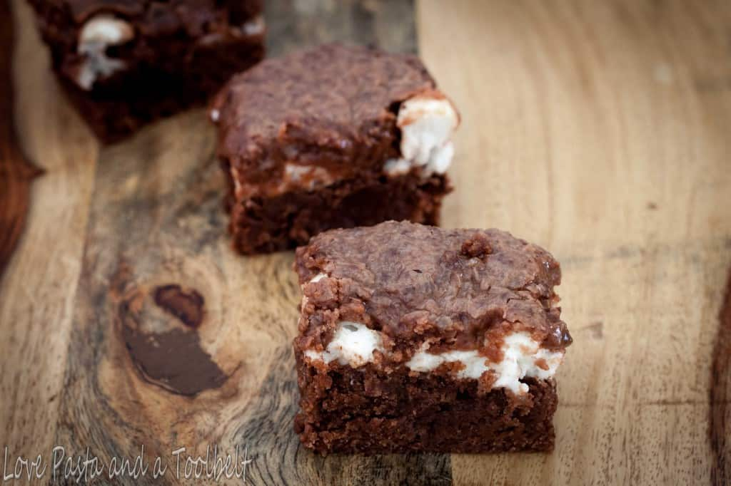 Mississippi Mud Cake is a rich and delicious chocolate dessert- Love, Pasta and a Tool Belt   desserts   cake   recipe   food   chocolate  