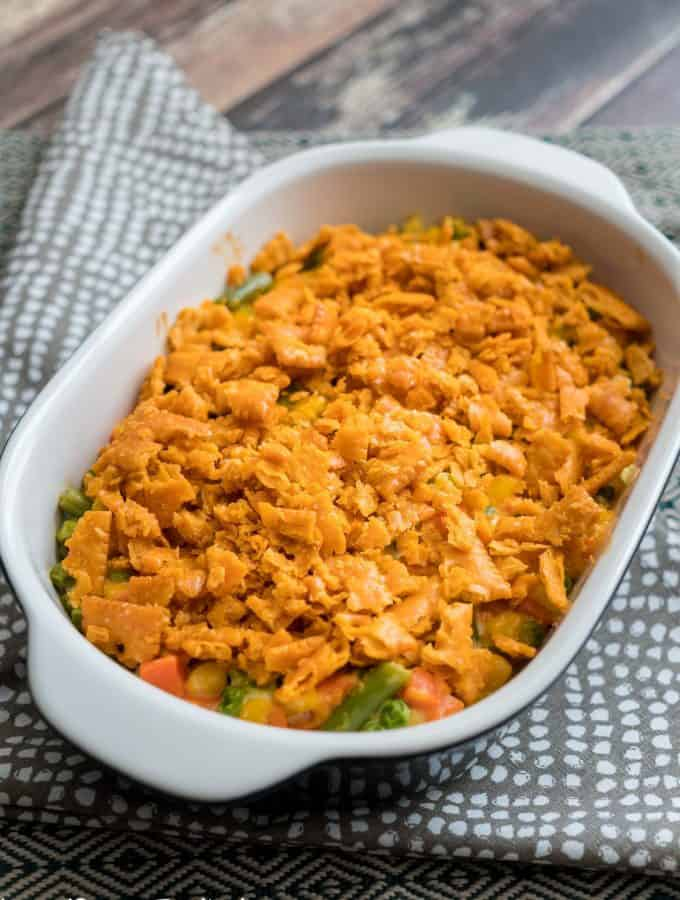 Mixed Vegetable Casserole will be your family's new favorite side dish recipe. Even those who aren't fans of vegetables love this casserole!