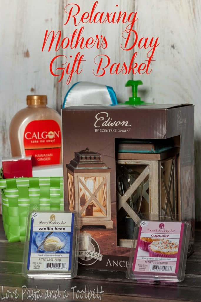 Relaxing Mother's Day Gift Basket