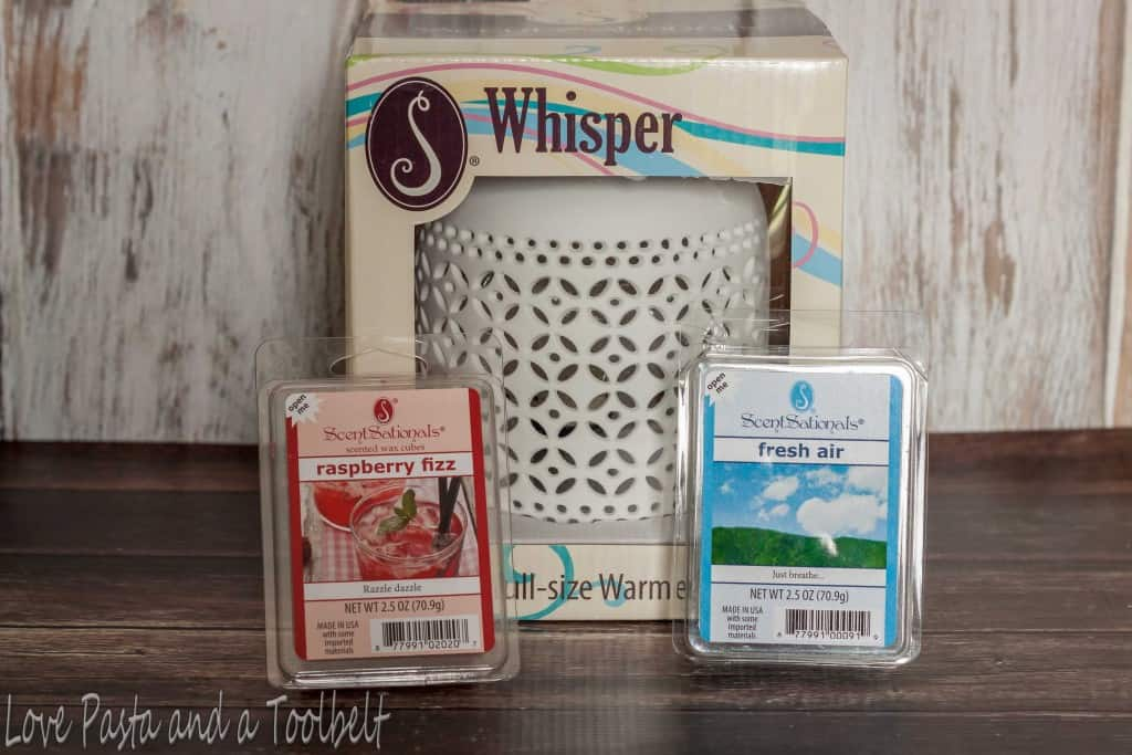 Relaxing Mother's Day Gift Basket- Love, Pasta and a Tool Belt #WicklessWonders #ad