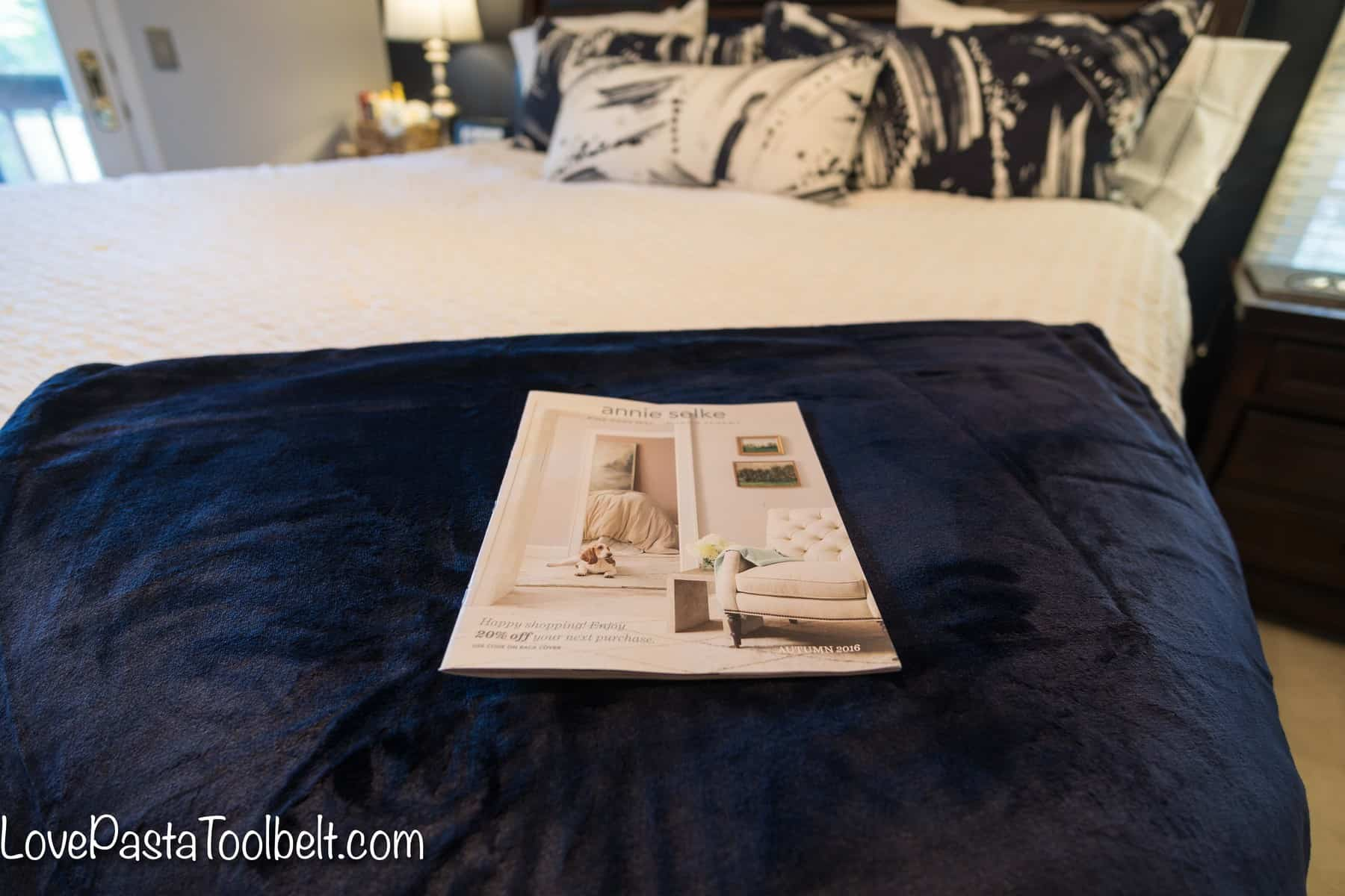 Navy and Gray Master Bedroom Design Love Pasta and a Tool Belt
