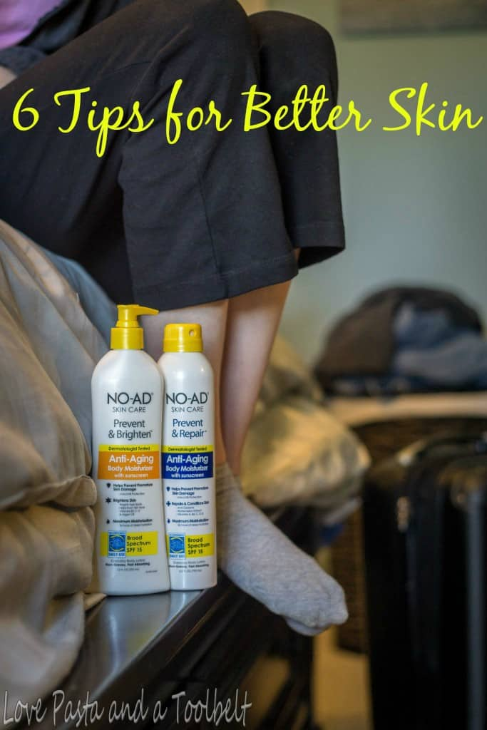 6 Tips for Better Skin- Love, Pasta and a Tool Belt #ad #HeartYourSkin | healthy skin | tips |