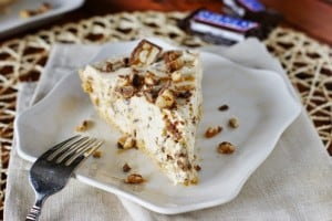 No Bake Snickers Bar Pie 2