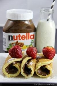 Nutella-Pancake-Rollups