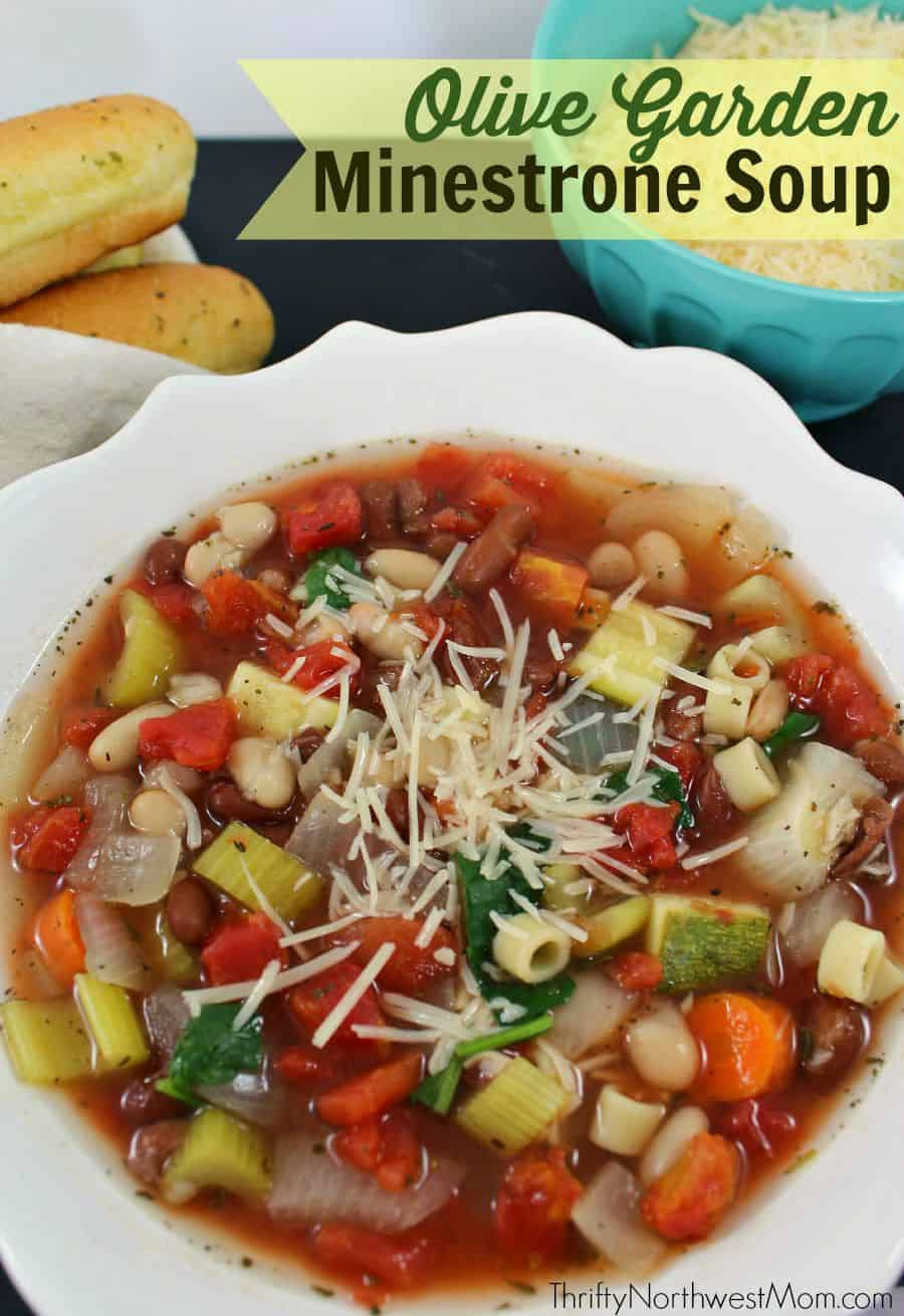 20 crock pot soup recipes love pasta and a tool belt for Minestrone soup olive garden recipe