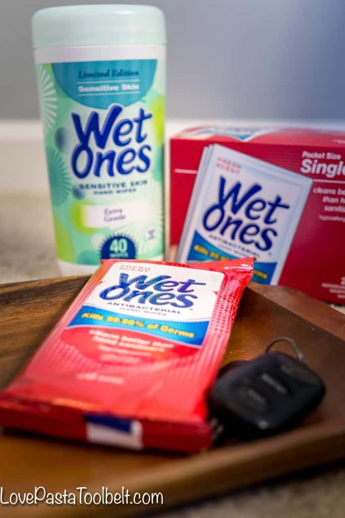 Get ready for cough and cold season with this On the Go Stay Well Kit- Love, Pasta and a Tool Belt #ad #GrabaWetOnes | health and wellness | healthy | stay well |