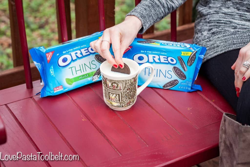 Today I've got 5 Ways to Maintain Sanity During the Holiday Season with OREO Thins! - Love, Pasta and a Tool Belt #OREOThinsAreIn #ad