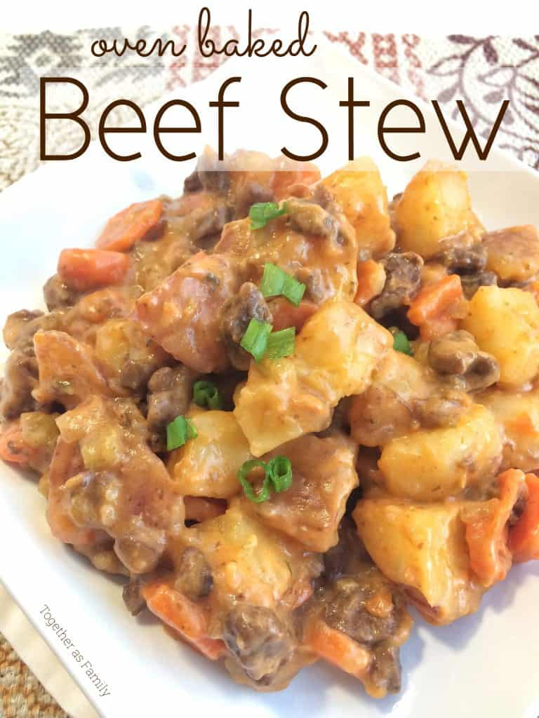 My contributor Jessica is sharing her recipe for Oven Baked Beef Stew- Love, Pasta and a Tool Belt | stew | soup | recipes | food | dinner ideas | comfort food |