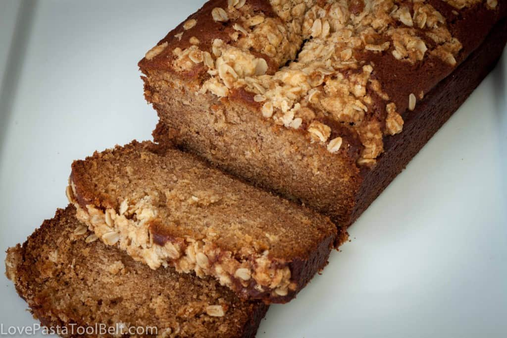 Peanut Butter Banana Bread- Love, Pasta and a Tool Belt