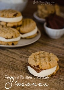 Peanut Butter Cookie Smores