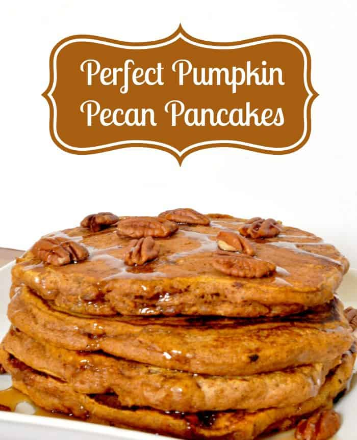 21. Perfect Pumpkin Pecan Pancakes from The Love Nerds