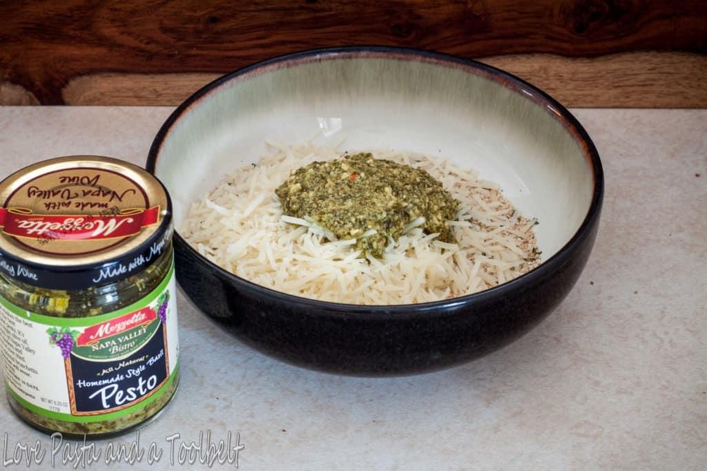 Pesto Chicken Spaghetti with Mezzetta1