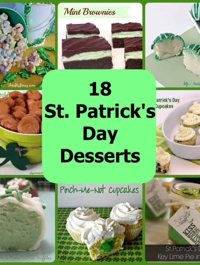18 St. Patrick's Day Desserts