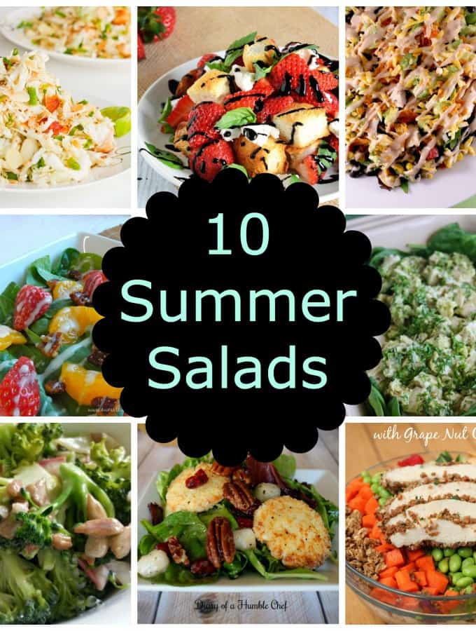 10 Summer Salads- Love, Pasta and a Tool Belt