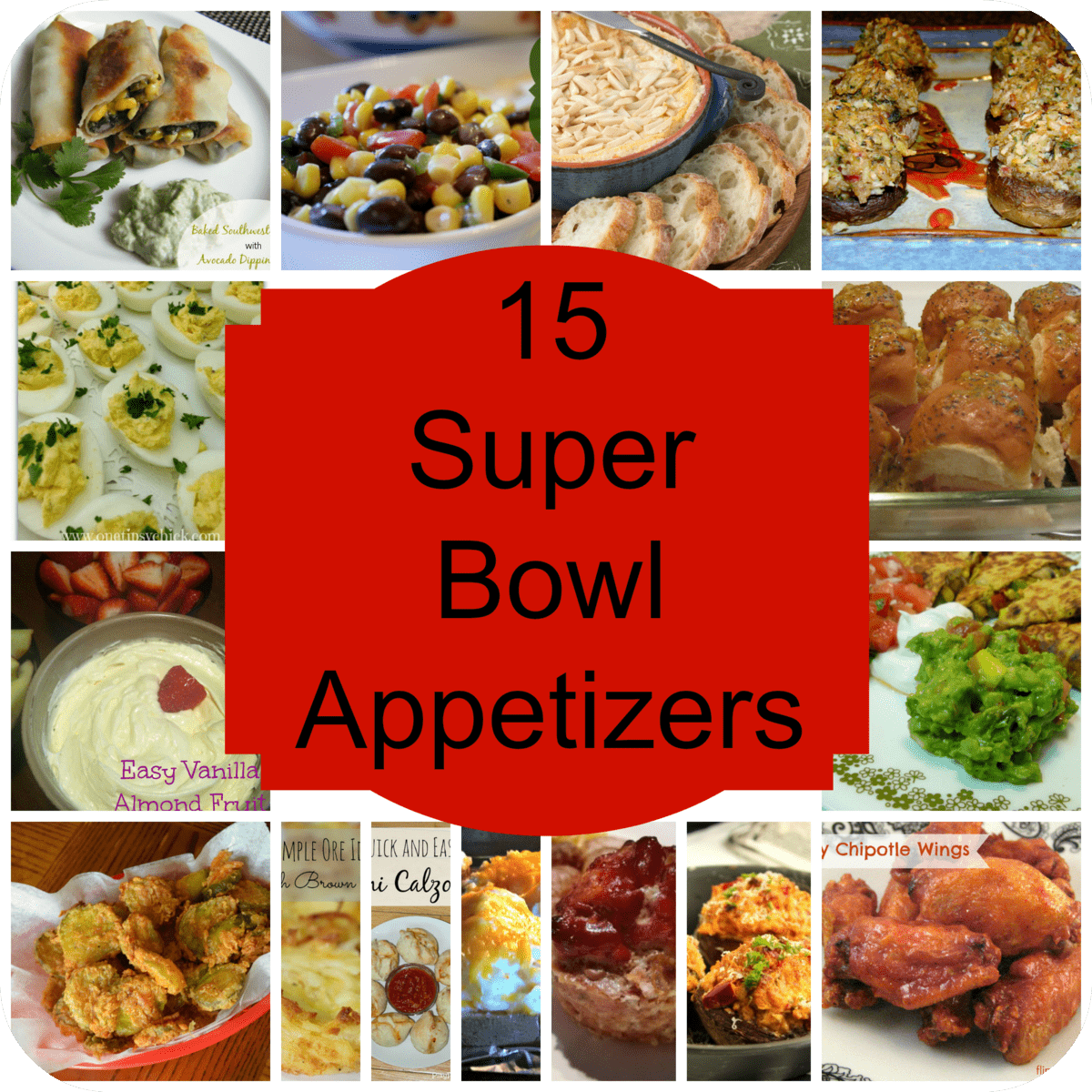 15 super bowl appetizers part 2 love pasta and a tool belt for Super bowl appetizers pinterest
