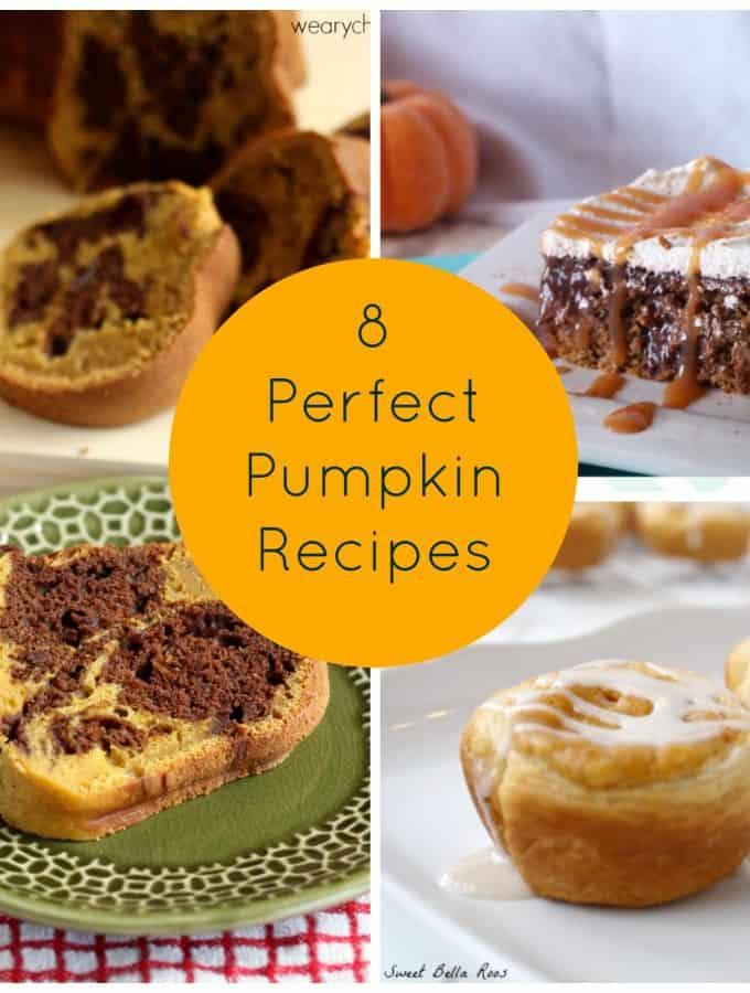 8 Perfect Pumpkin Recipes