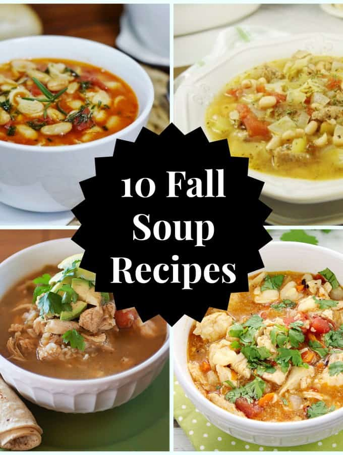 10 Fall Soup Recipes