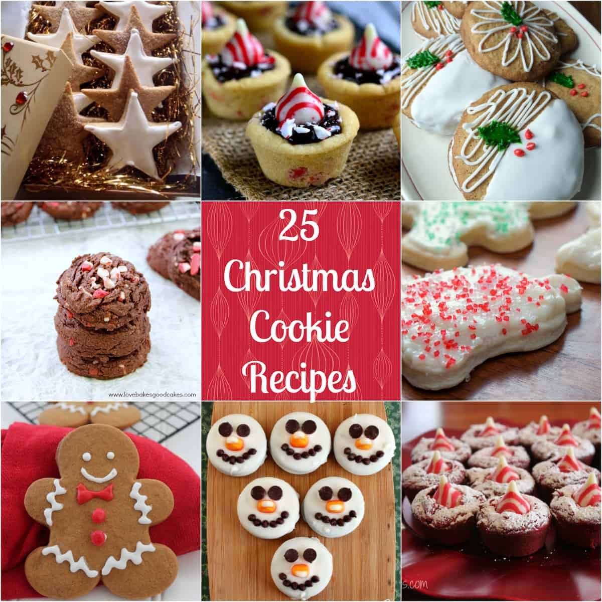 Wonderful christmas cookie recipes