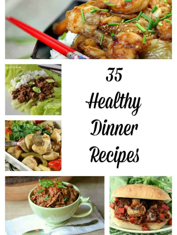 35 Healthy Dinner Recipes