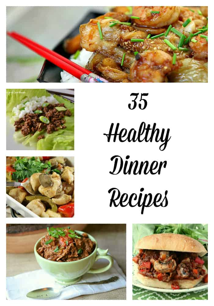 35 Healthy Dinner Recipes is a round up to help you stick with those New Years resolutions to eat healthier- Love, Pasta and a Tool Belt | healthy | food | dinner | Healthy recipes | healthy dinner | dinner ideas |
