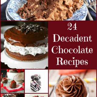 24 Decadent Chocolate Recipes- Love, Pasta and a Tool Belt | Chocolate Recipes | Chocolate | Dessert Recipes | Dessert |
