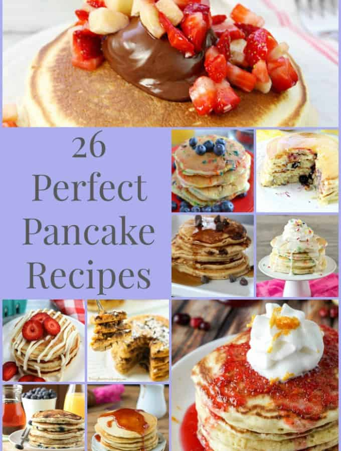 26 Perfect Pancake Recipes