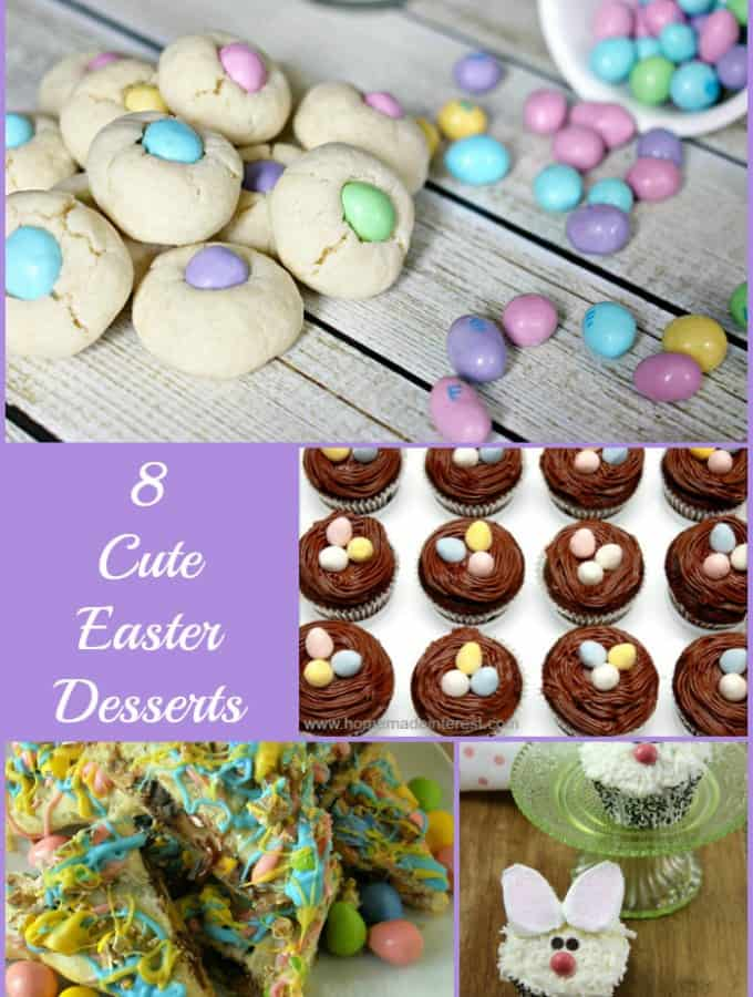 8 Cute Easter Desserts