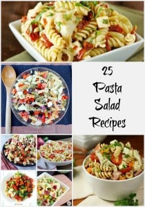 Find your perfect bbq side dish with these 25 Pasta Salad Recipes- Love, Pasta and a Tool Belt | recipes | food | pasta | pasta salad | salad | bbq | summer |