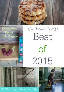 Taking a look back to see the most popular posts for 2015! The Best of 2015 for Love, Pasta and a Tool Belt | recipes | crafts | DIY | Home Improvement |