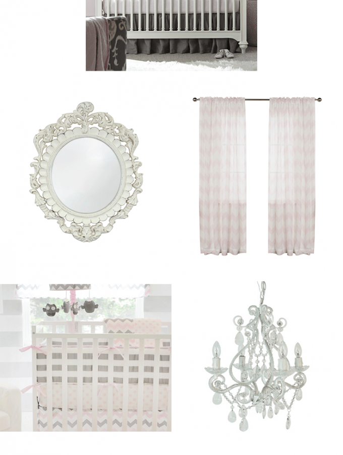 Pink & Gray Nursery Inspiration