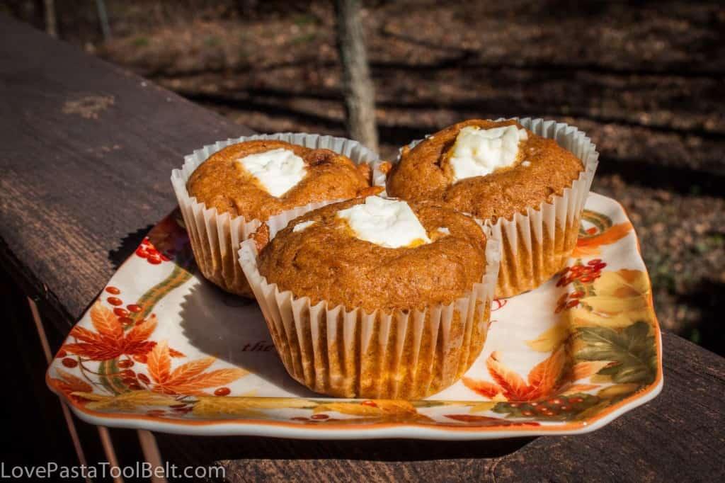 Pumpkin Cream Chees Muffins-2