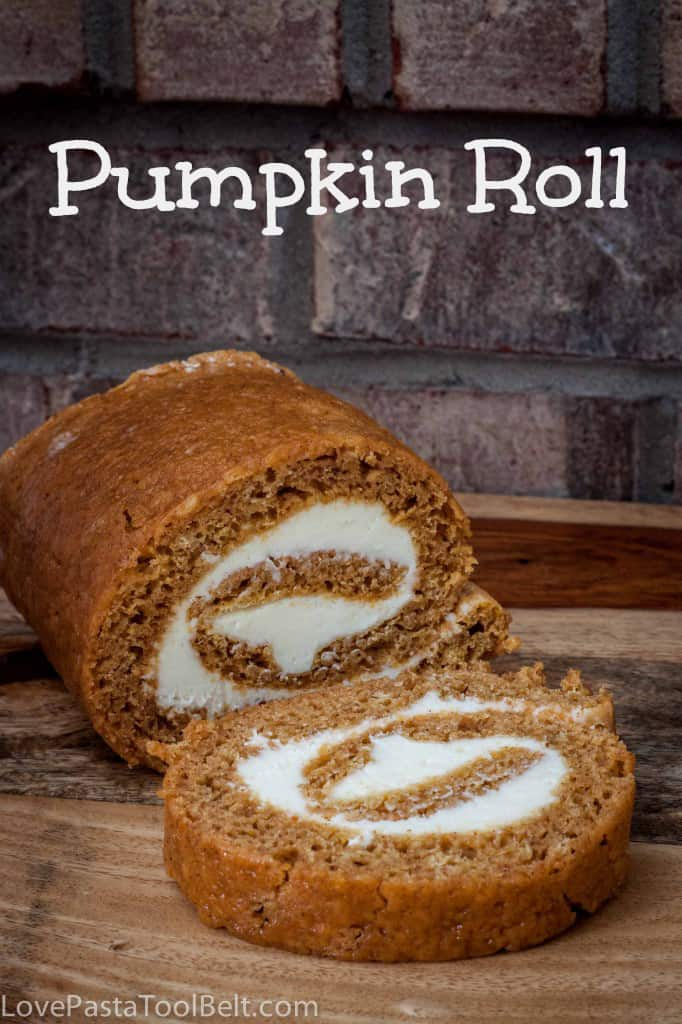 Pumpkin Roll- Love, Pasta and a Tool Belt