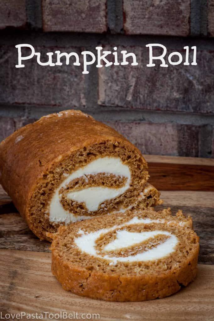 Pumpkin Roll - Love, Pasta, and a Tool Belt