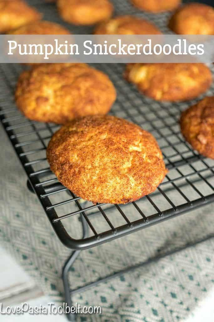 Add some fall flavor to a classic with this cookie recipe for Pumpkin Snickerdoodles