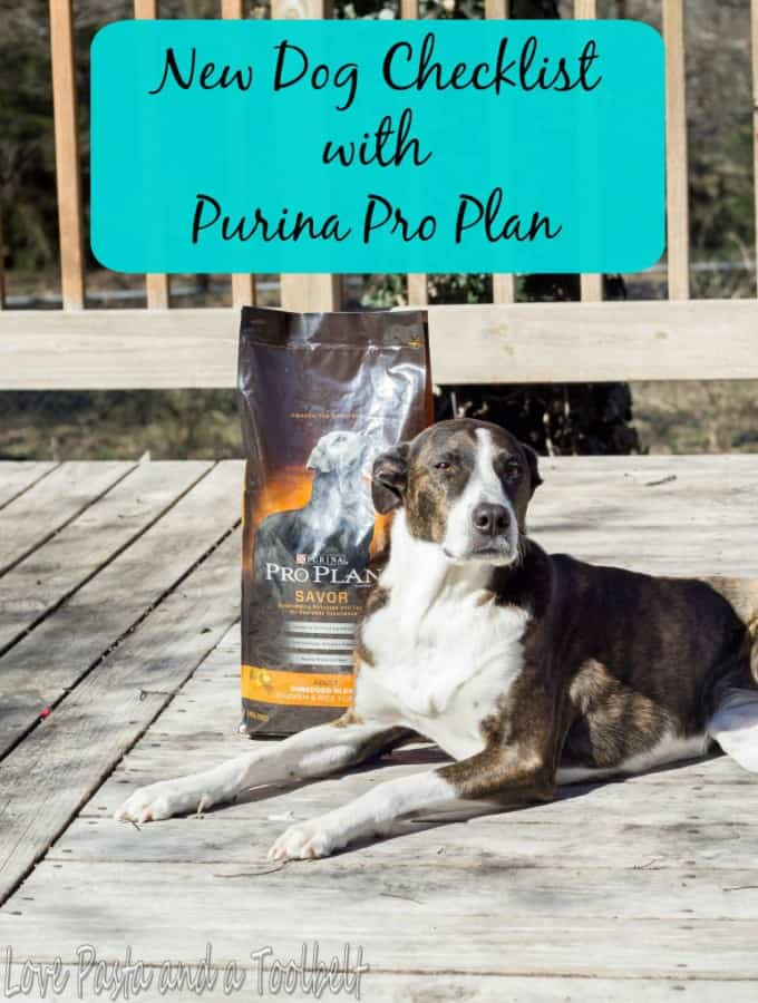 New Dog Checklist with Purina® Pro Plan®