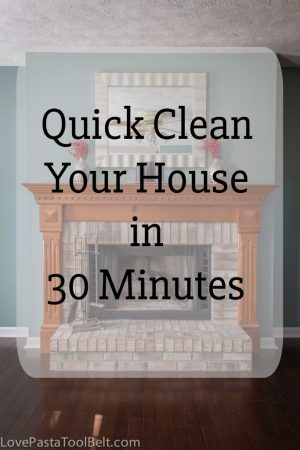 Even if you've had a busy day try these easy steps to Quick Clean Your House in 30 Minutes #BeDustFree #ad