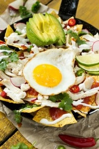 Quick and Easy Chicken Chilaquiles