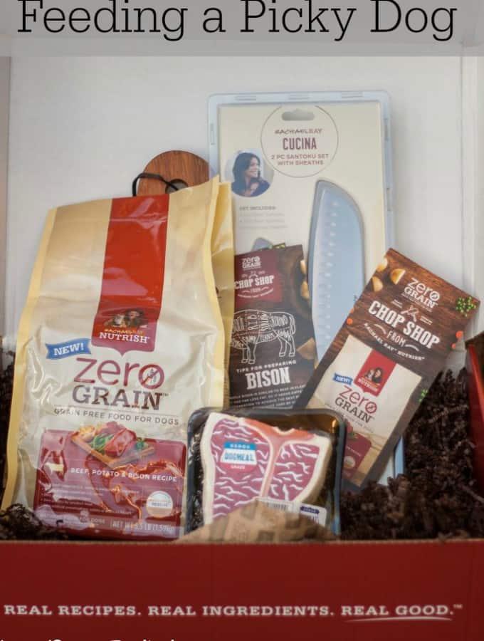 Feeding a Picky Dog with Rachael Ray Nutrish: Zero Grain Dog Food