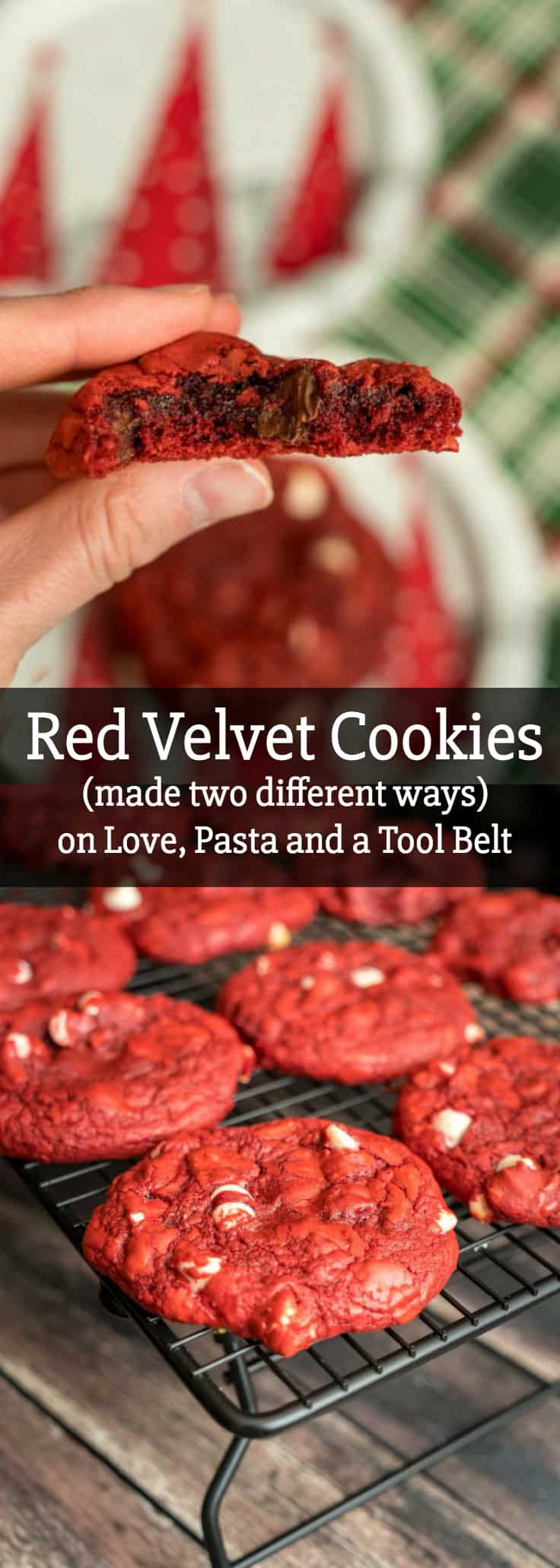 How To Make Red Velvet Cookies Two Different Ways Love