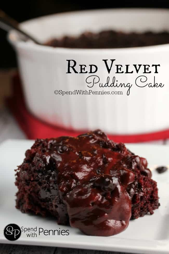 Red Velvet Poke Cake With Cheesecake Pudding Recipe