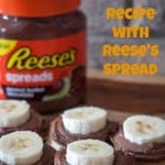 Make an Easy Snack Recipe with Reese's Spread - Love, Pasta and a Tool Belt #AnySnackPerfect #shop | snacks | recipes |