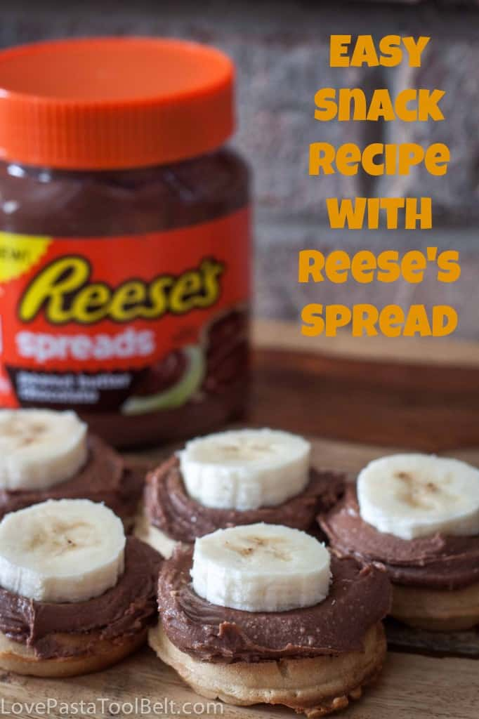 Easy Snack Recipe With Reese's Spreads